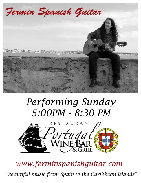 Portugal Wine Bar & Grill FLYER